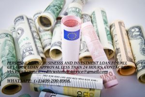 WE OFFER AN EASY START UP BUSINESS LOAN OF ANY AMOUNT